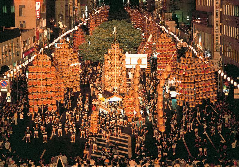 秋田竿灯祭-2