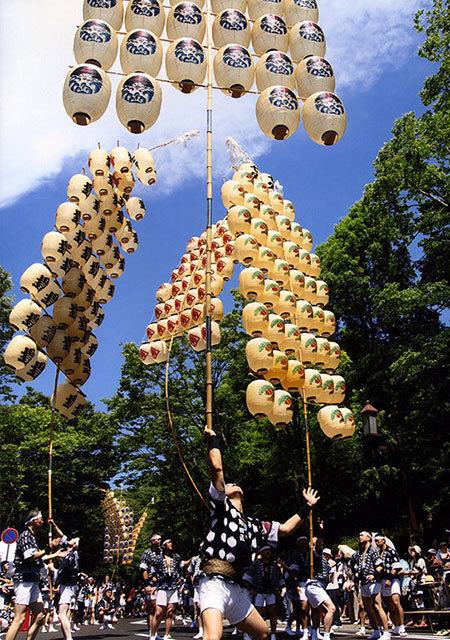 秋田竿灯祭-3