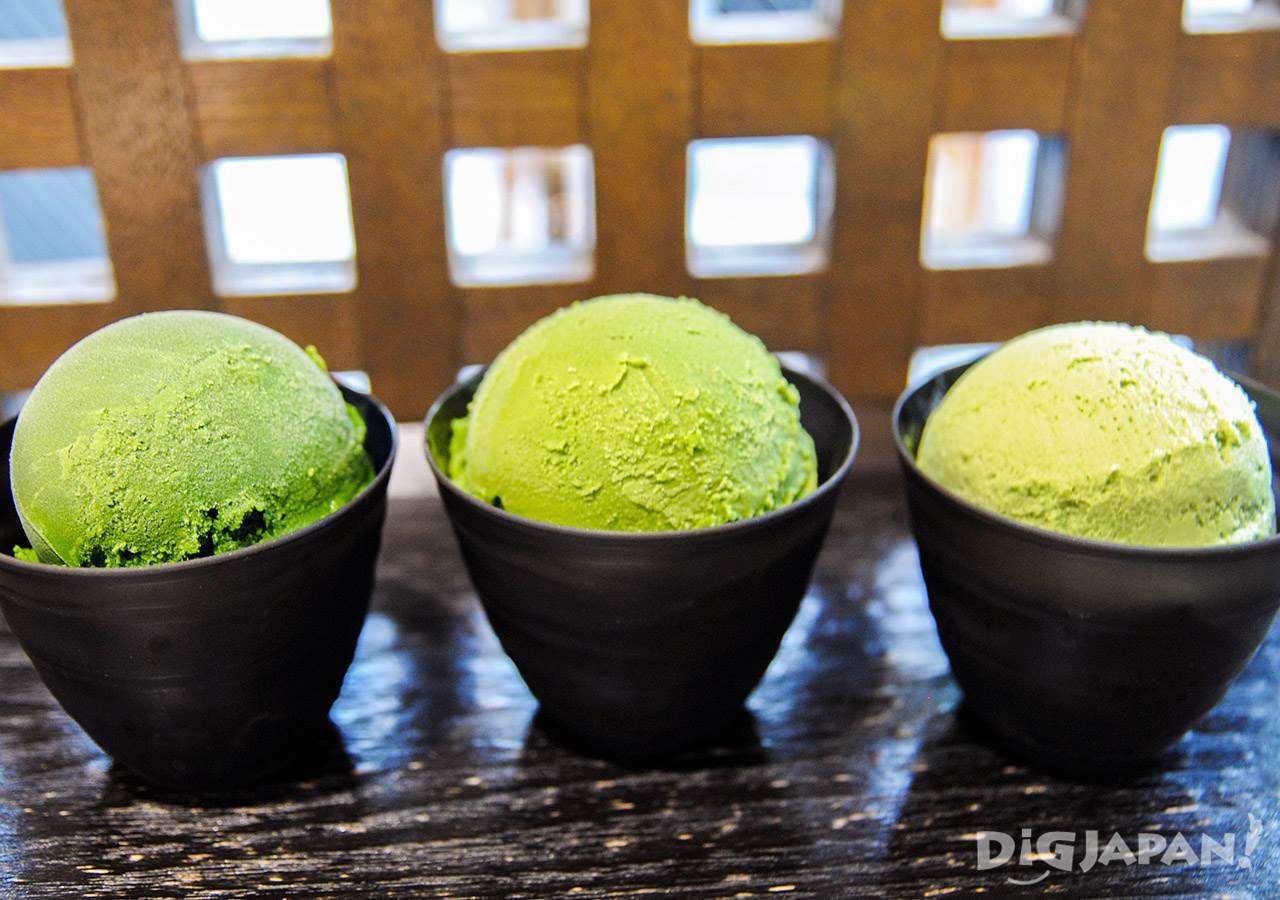 寿寿喜园×Nanaya_抹茶冰淇淋