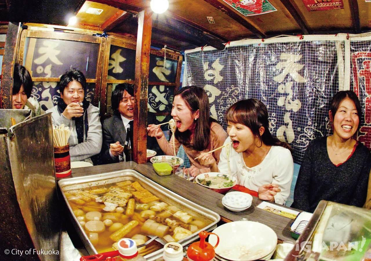 후쿠오카의 포장마차 야타이