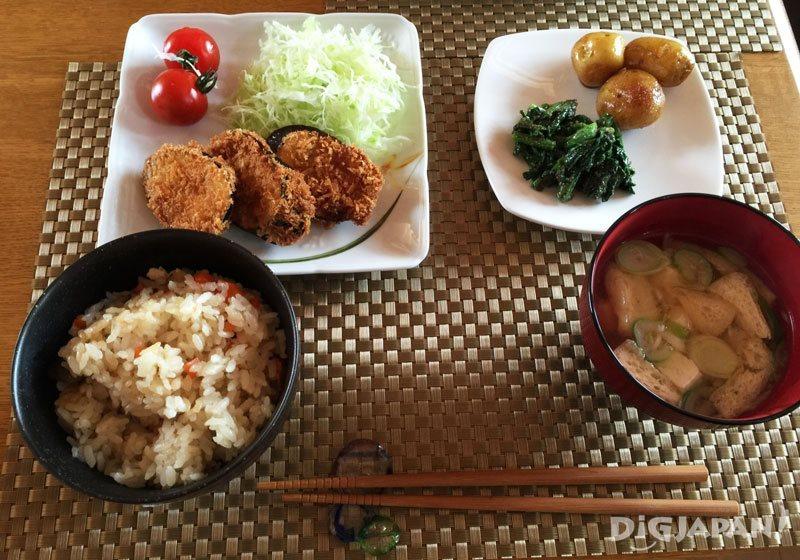 Hida Cooking Class Meal