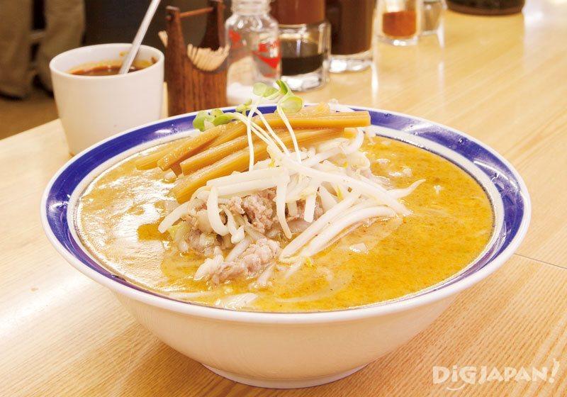 Hokkaido cuisine miso ramen