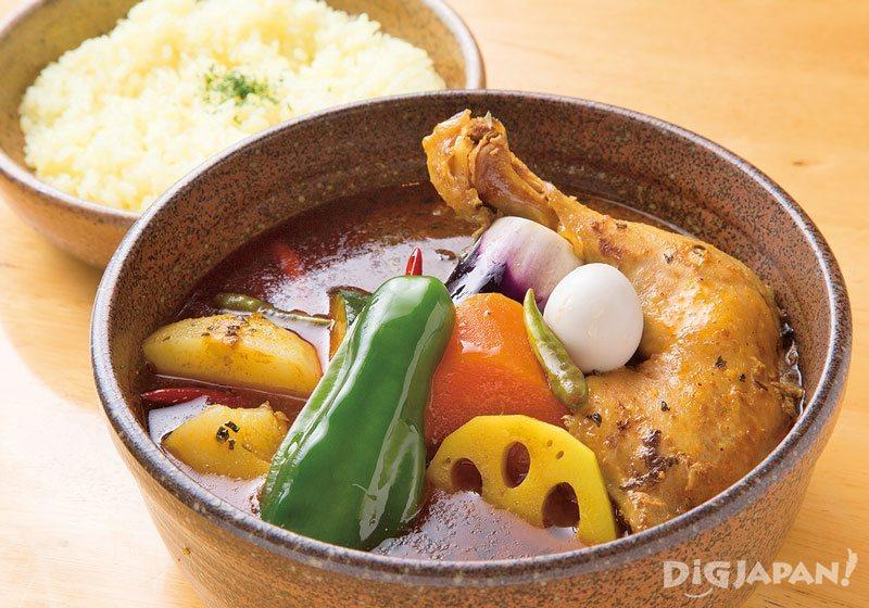 Hokkaido cuisine soup curry