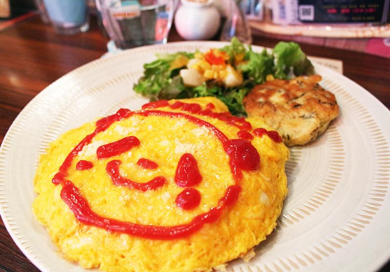 Smile Kitchen熊貓蛋包飯