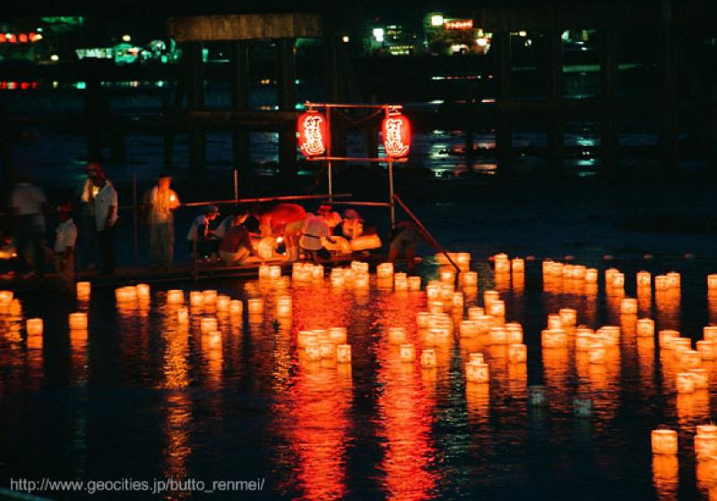 아라시야마 여름 축제 등롱 축제-2