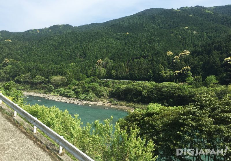 Shikoku inaka countryside Tokushima