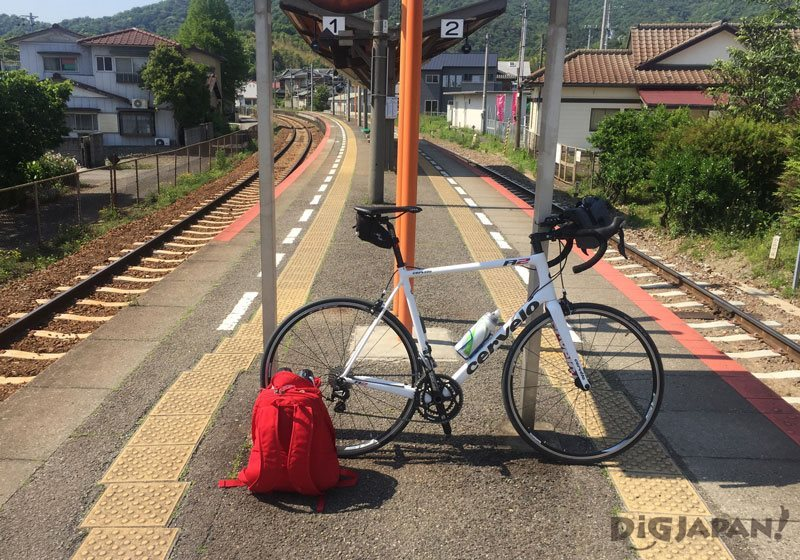 Shikoku's 88 Temple Pilgrimage built road bike
