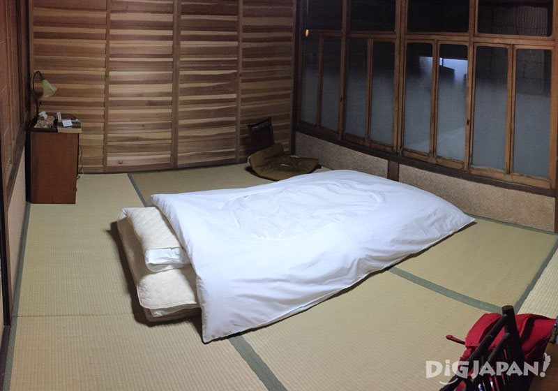 accommodation near temple 24, Hotsumisaki-ji.