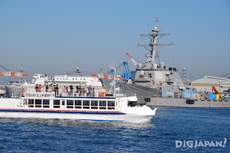 日本人には人気の「軍港めぐり」だがインバウンドではどうか?