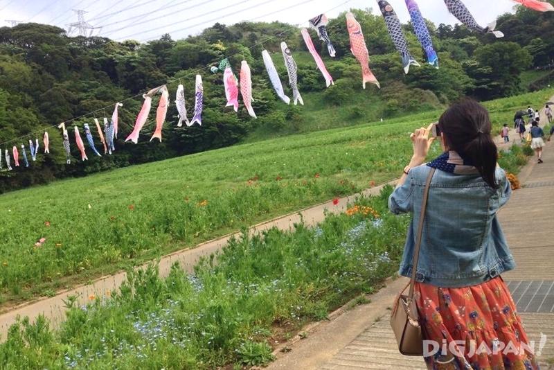 実際に横須賀を旅行しているタイ人