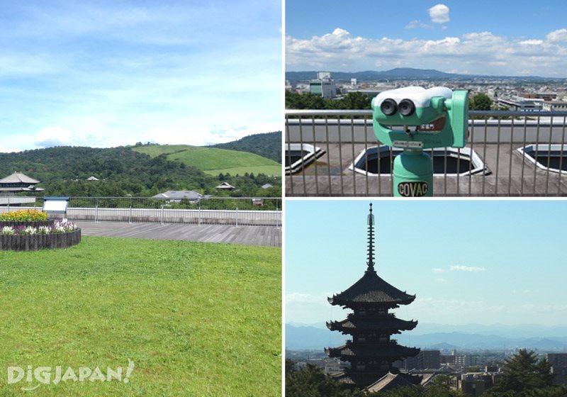 奈良県庁 県庁屋上