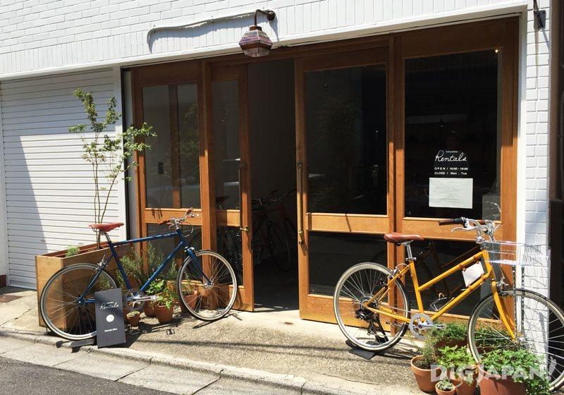 tokyobike rental storefront