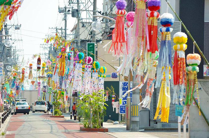 仙台七夕祭裝飾2