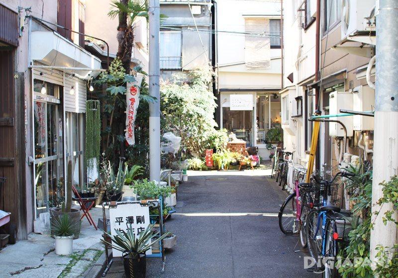 Yanaka Nezu Sendagi area of Tokyo called Yanesen