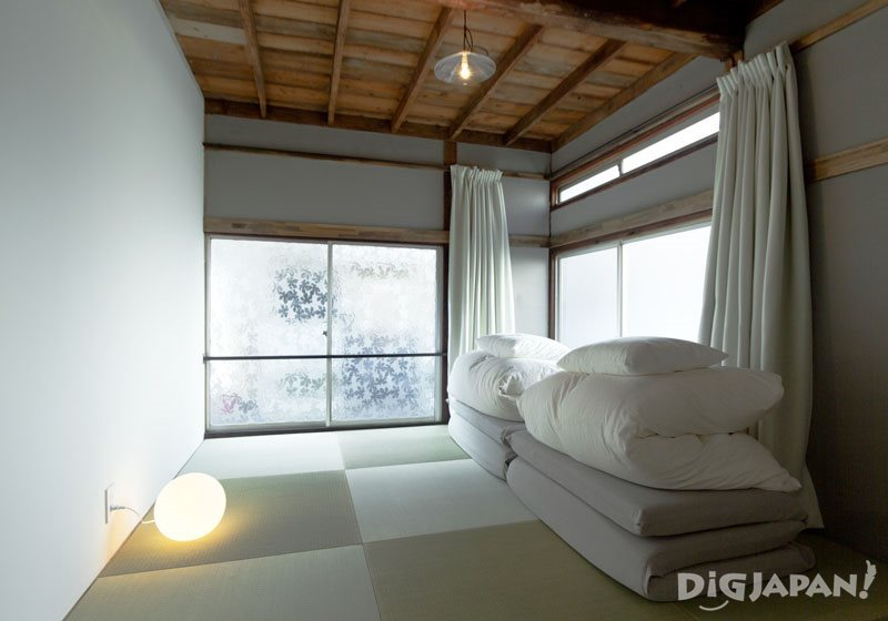 yatsude room at hanare in tokyo yanesen