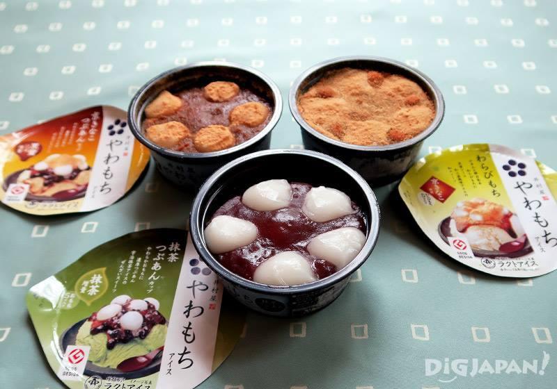 일본 떡 아이스크림 야와모찌-1