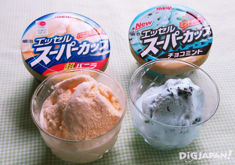 일본 대표 아이스크림 메이지 엣셀 슈퍼컵-1