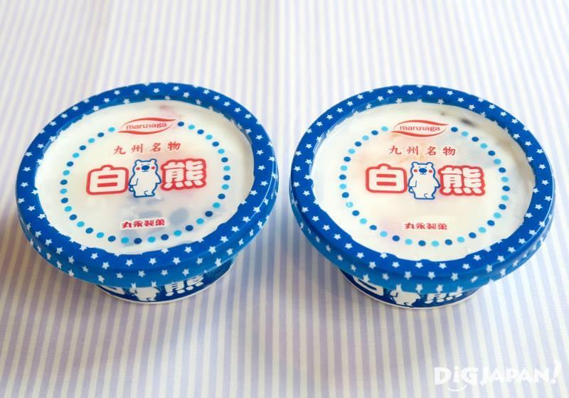 일본 큐슈 대표 아이스크림 시로쿠마-1