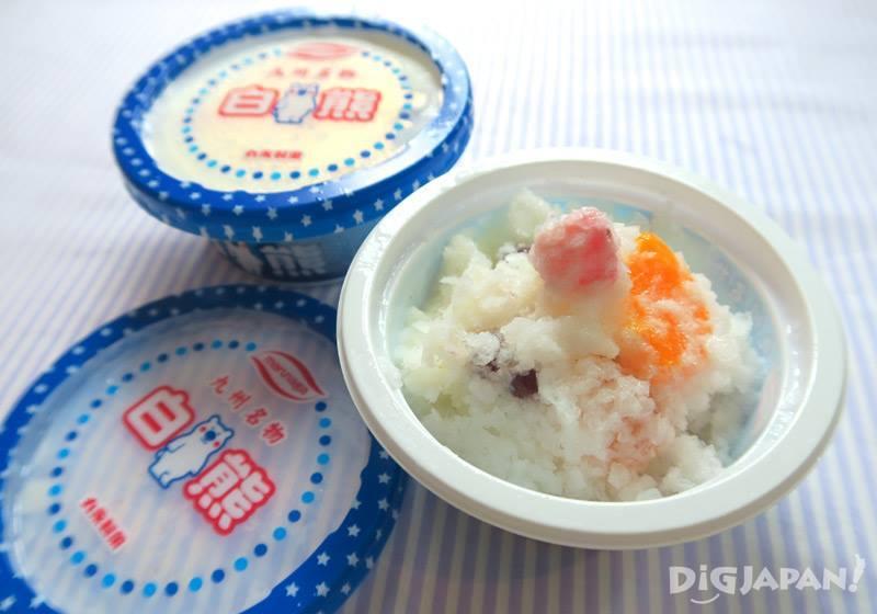 일본 큐슈 대표 아이스크림 시로쿠마-2