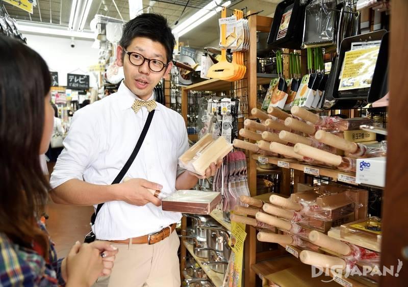 店員飯田先生