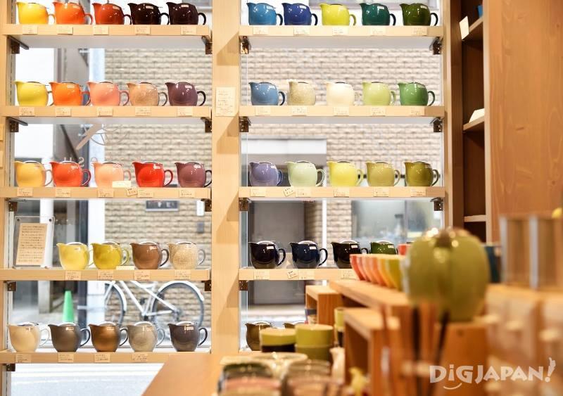 顏色豐富的各式Made in Japan食器