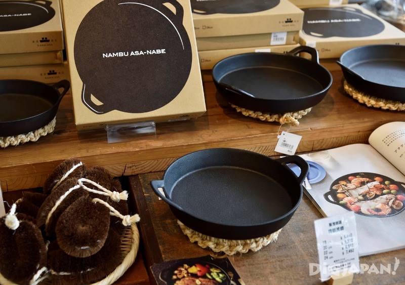 オーブン料理にも使える南部鉄鍋