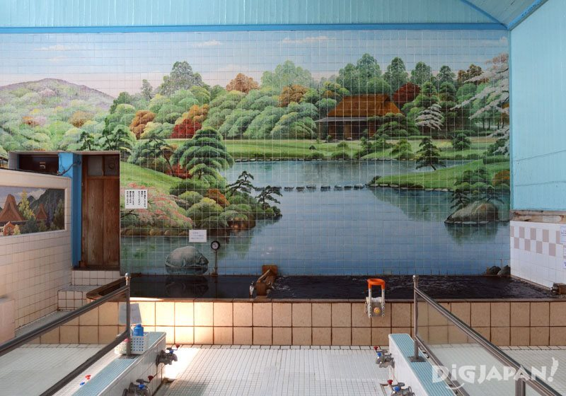 sento public bath in yanesen tokyo
