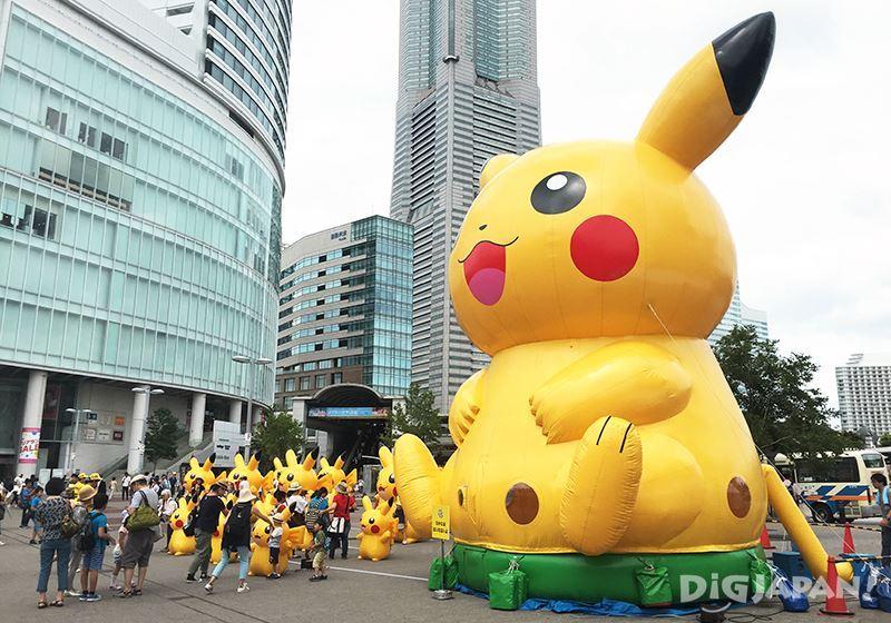 Pikachu Outbreak 2016_樱木町站前广场2