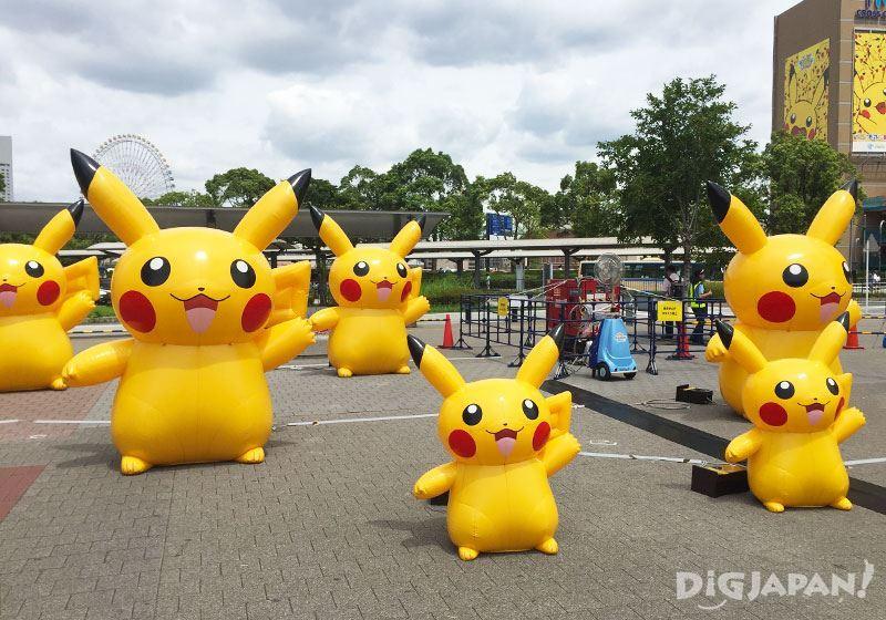 Pikachu Outbreak 2016_樱木町站前广场3