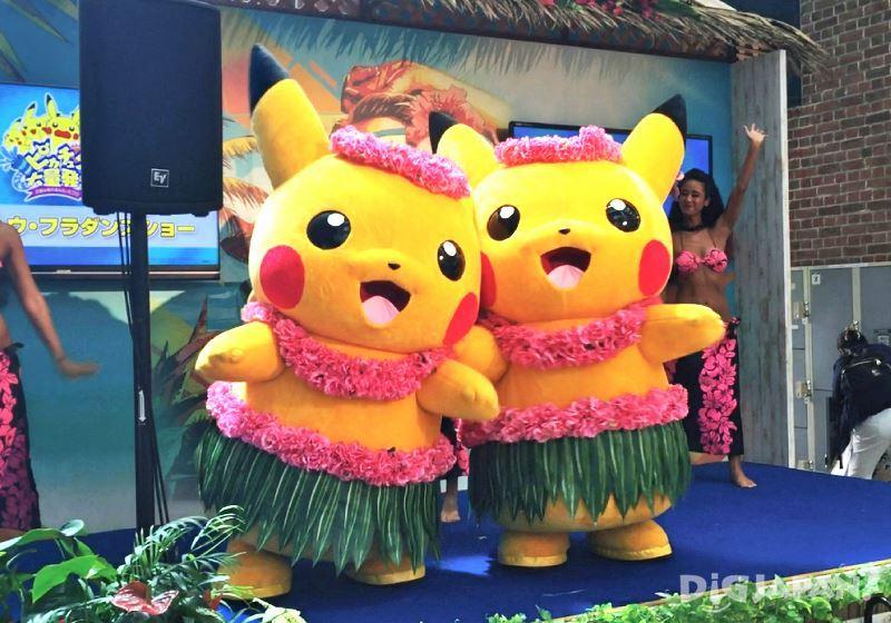 Pikachu Outbreak 2016_横滨沃得波特购物中心1
