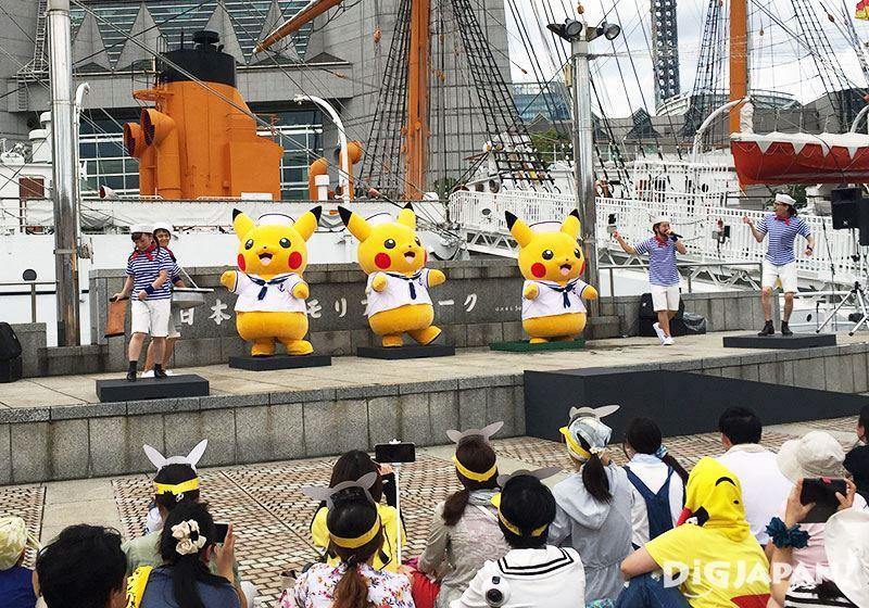 Pikachu Outbreak 2016_日本丸纪念公园2