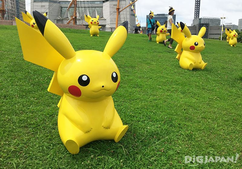 Pikachu Outbreak 2016_日本丸纪念公园3