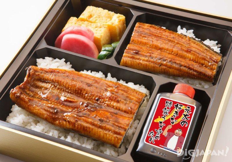 โคนันคาเฟ่ฟุกุโอกะ_ข้าวหน้าปลาไหล