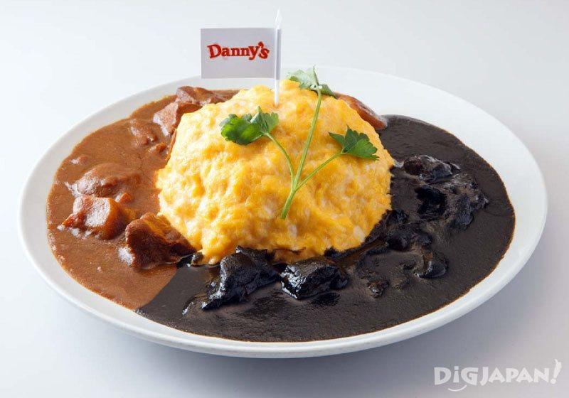 Denny's特製的「雞肉咖哩」和灰原&步美親手作的「黑咖哩」