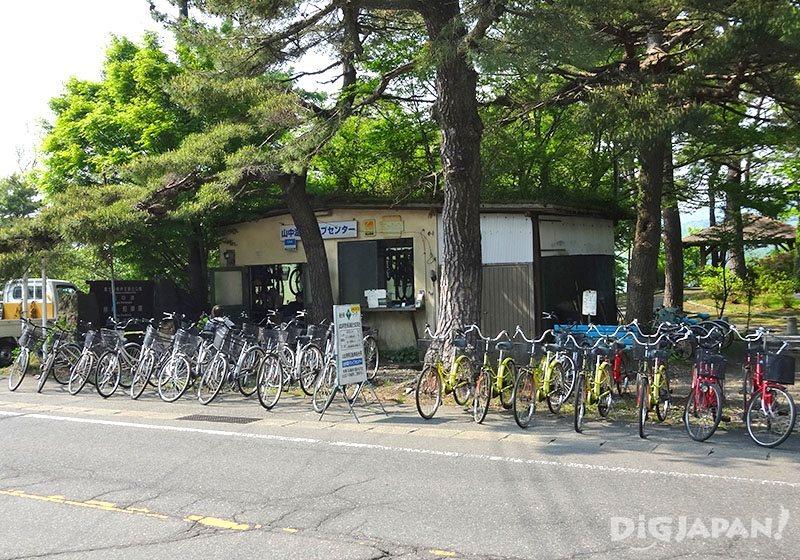 """1 วันกับ """"ฟูจิวิว""""_ร้านเช่าจักรยาน"""