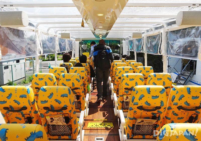 """1 วันกับ """"ฟูจิวิว""""_ภายใน kaba bus"""
