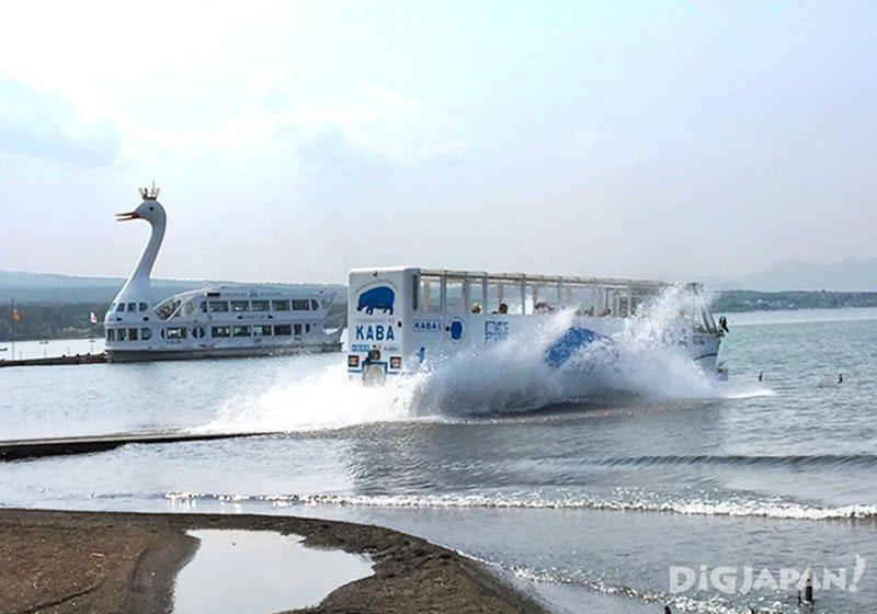 """1 วันกับ """"ฟูจิวิว""""_kaba bus ลงน้ำ"""