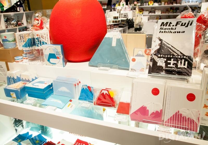富士山をモチーフにした商品