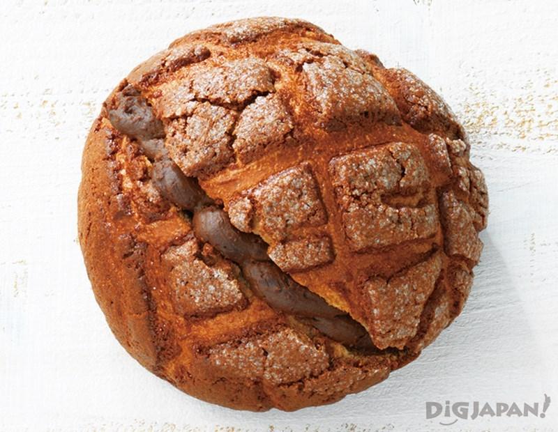 巧克力波蘿麵包