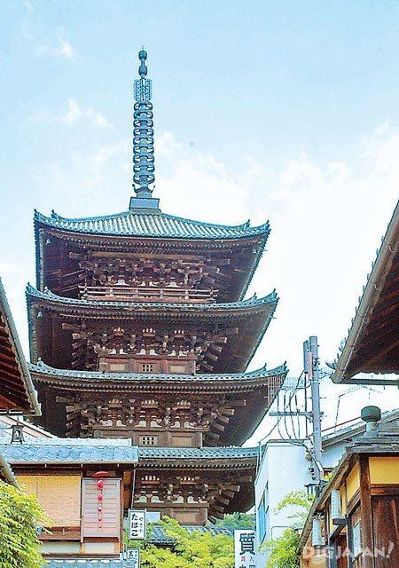 Yasaka Pagoda in Kyoto