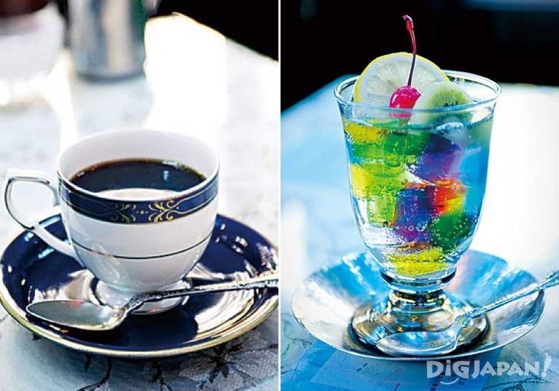 교토 클래식 카페 소와레 음료