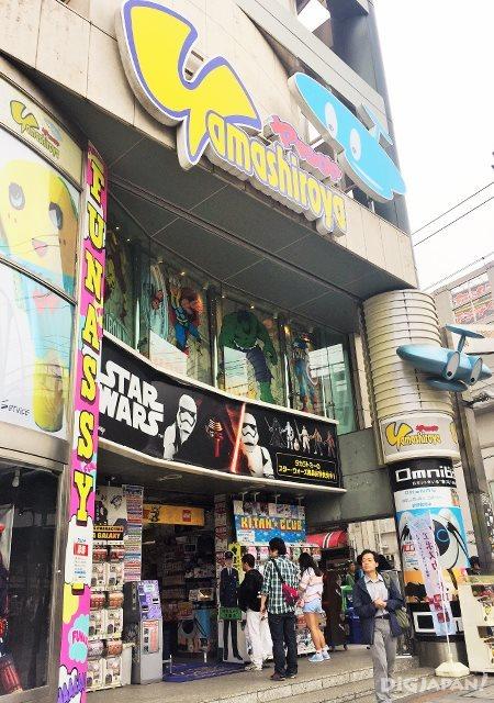 เดินเที่ยวตลาดอาเมะโยโก_ร้านของเล่น