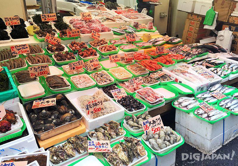 เดินเที่ยวตลาดอาเมะโยโก_ซีฟู้ด