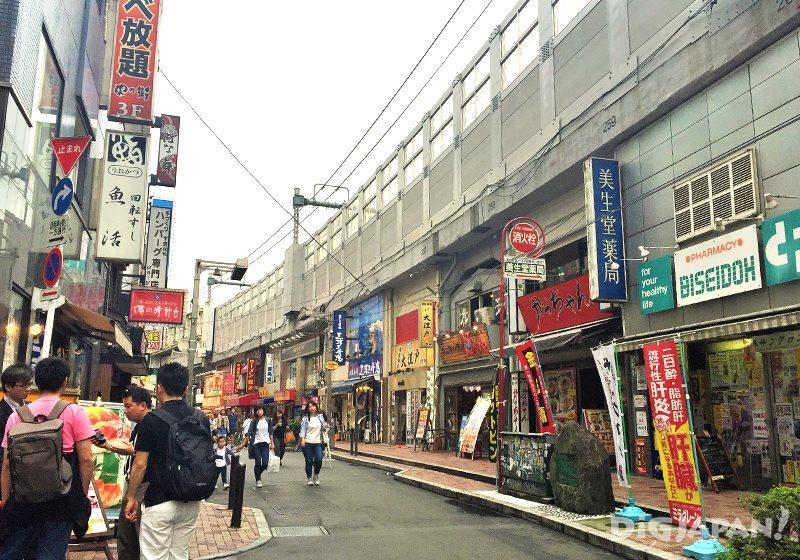 เดินเที่ยวตลาดอาเมะโยโก_ซอยร้านอาหาร