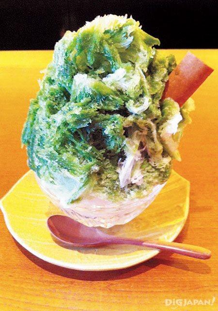 祇園NITI天然抹茶刨冰