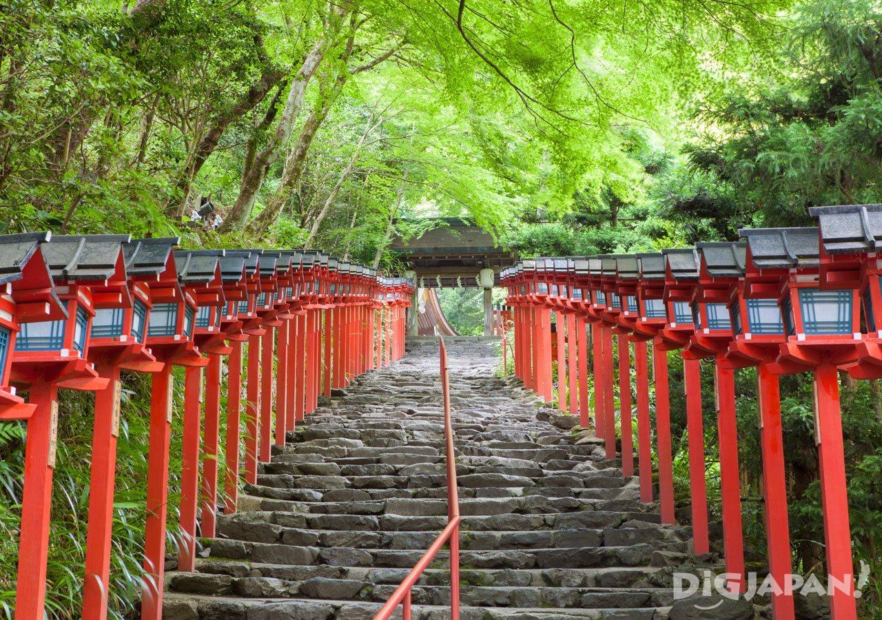 Kifune-jinja Shrine in Kyoto