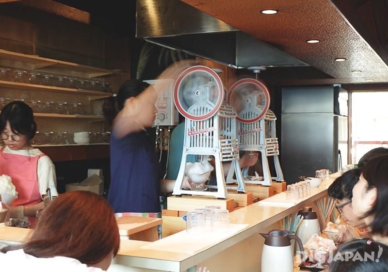 ร้านน้ำแข็งไสฮิมัทสึโด_บรรยากาศภายในร้าน