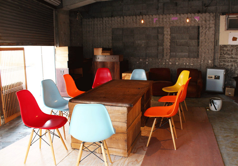RICO-倉庫桌椅