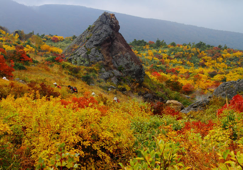 Fall foliage at Kurikoma Yama in Iwate Prefecture 2