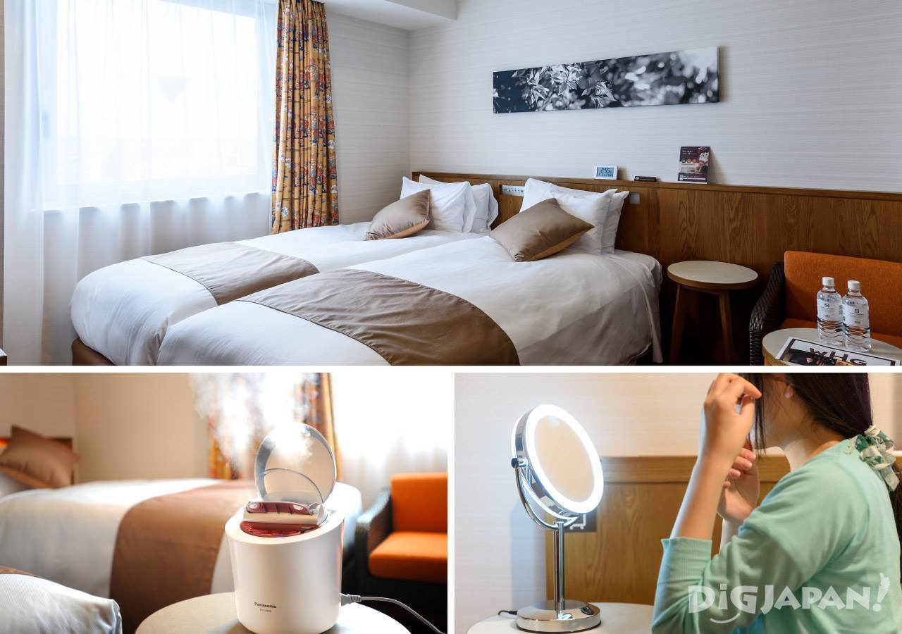女性专用客房各种设备